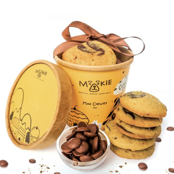 Mookie Mini Chewies Brookie Vegan and Gluten Free - Cup of 12 pcs