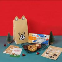Mookie Christmas Wonderland Kit Package - Chocolate Bar