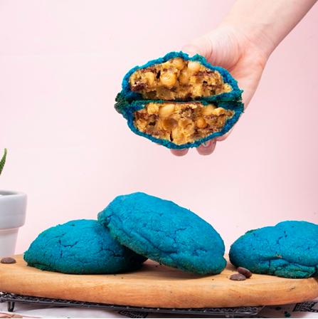 Mookie Cookie Monster Cookies