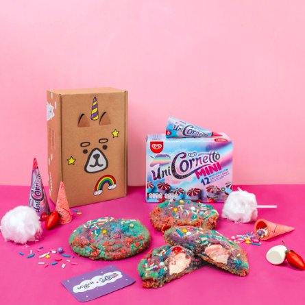 Mookie Unicorn Magic Cookies