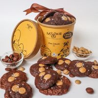 Mookie Mini Chewies Golden Brownie - Cup of 12 pcs