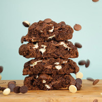 Triple Chocolate Gooey Monster Cookies (2 pcs)